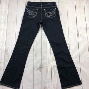 Rock & Republic Dark Wash Kasandra Jeans Size 6